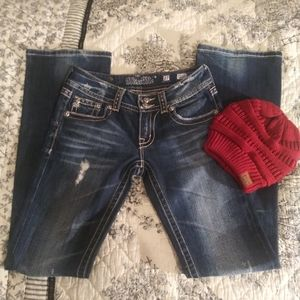 Miss me size 27 boot cut jeans